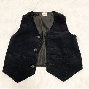 Gymboree boy corduroy vest